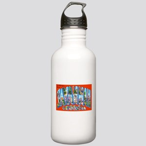 Savannah Georgia Greetings Stainless Water Bottle