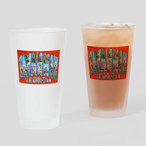 Savannah Georgia Greetings Drinking Glass