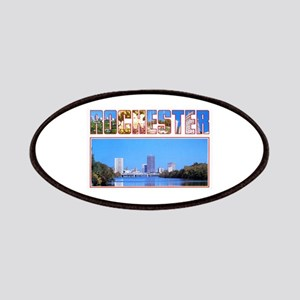 Rochester New York Greetings Patches