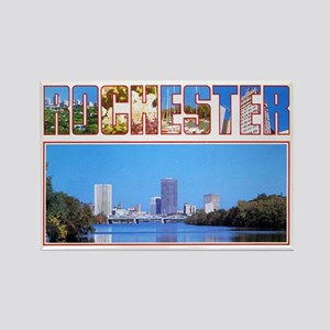 Rochester New York Greetings Rectangle Magnet