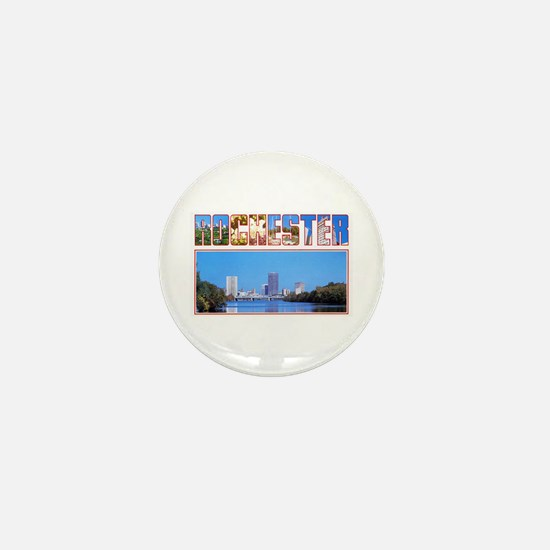 Rochester New York Greetings Mini Button