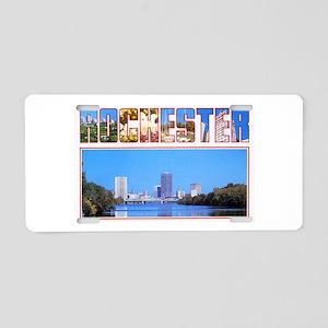 Rochester New York Greetings Aluminum License Plat