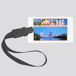 Rochester New York Greetings Large Luggage Tag