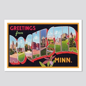 Rochester Minnesota Greetings Postcards (Package o
