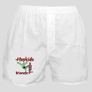 Hapkido Karate Splash design Boxer Shorts