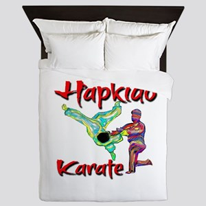 Hapkido Karate Splash design Queen Duvet