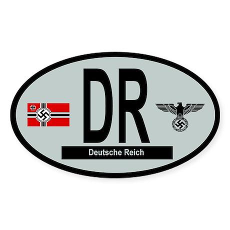 National Car Code Deutsche Reich 1933-1945 Sticker