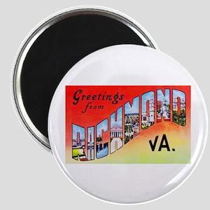 Richmond Virginia Greetings Magnet