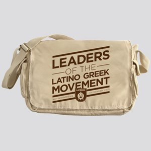 Lambda Theta Phi Leaders Messenger Bag