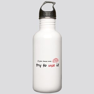 Use your brain Stainless Water Bottle 1.0L