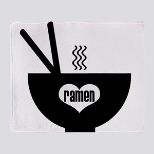 ramen Throw Blanket