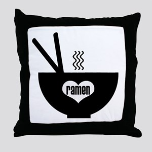 ramen Throw Pillow