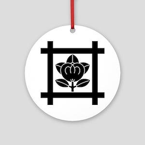 tachibana of the Nichiren sect Ornament (Round)