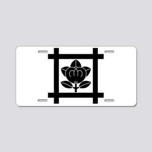 tachibana of the Nichiren sect Aluminum License Pl