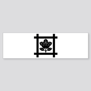tachibana of the Nichiren sect Sticker (Bumper)