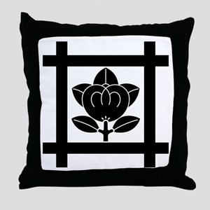 tachibana of the Nichiren sect Throw Pillow