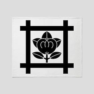 tachibana of the Nichiren sect Throw Blanket
