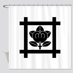 tachibana of the Nichiren sect Shower Curtain