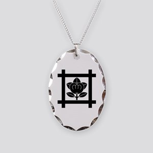 tachibana of the Nichiren sect Necklace Oval Charm
