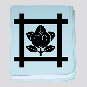 tachibana of the Nichiren sect baby blanket
