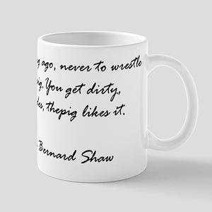 Nice George Bernard Shaw Mug