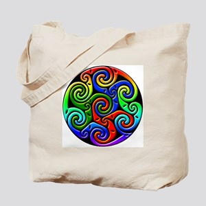 Celtic Spirals Tote Bag