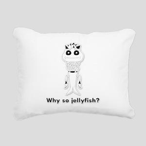 Jellyfish Rectangular Canvas Pillow