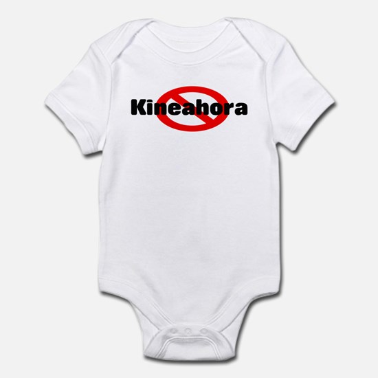 No Kineahora Baby Onesie