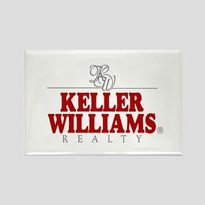 Keller Williams Rectangle Magnet