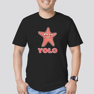 YOLO Men's Fitted T-Shirt (dark)