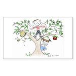 Rosh Hashanah Rectangle Sticker