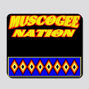 MUSCOGEE NATION Mousepad