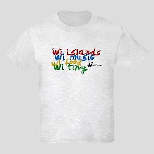 wi islands...wi ting Kids T-Shirt