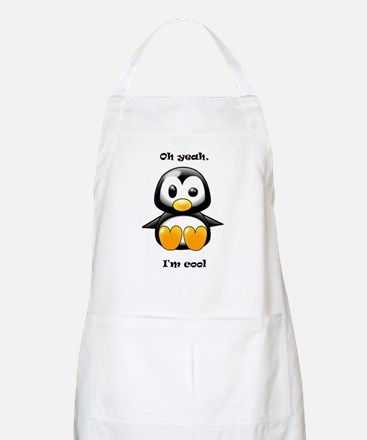 Oh Yeah, I'm Cool Penguin Apron