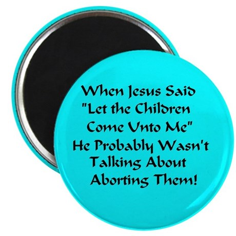 Let the Children Come Unto Me Round Magnet pack