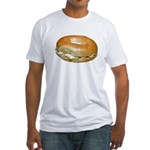 Bagel and Cream Cheese Fitted T-Shirt