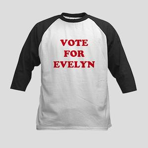 VOTE FOR EVELYN  Kids Baseball Jersey