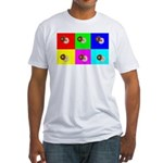 Andy Warhola Bagels Fitted T-Shirt