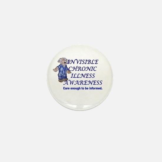 Adorable Invisible Chronic Il Mini Button