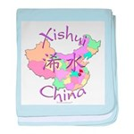 Xishui China baby blanket