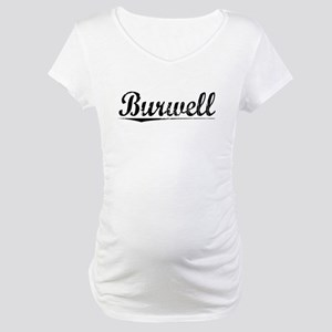 Burwell, Vintage Maternity T-Shirt