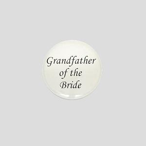 Grandfather of the Bride. Mini Button