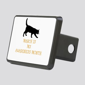 March Is MS Awareness Mont Rectangular Hitch Cover