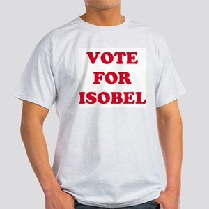 VOTE FOR ISOBEL  Ash Grey T-Shirt