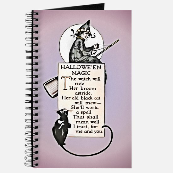 Halloween Witch Journal