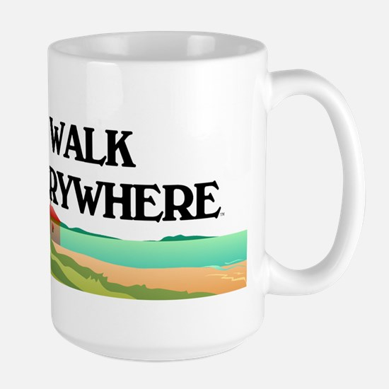 TOP Walk Everywhere Large Mug