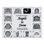 Angels in Stone Wall Calendar
