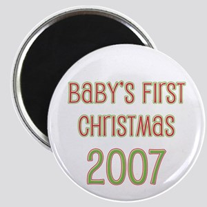 Baby's First Christmas 2007 Magnet