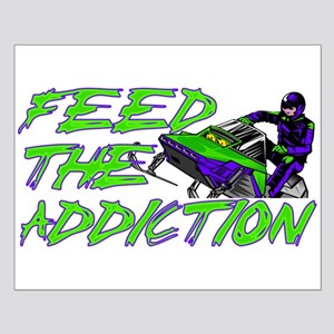 Feed The Addiction Small Poster