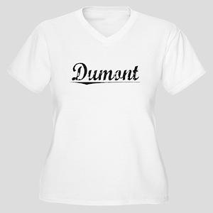 Dumont, Vintage Women's Plus Size V-Neck T-Shirt
